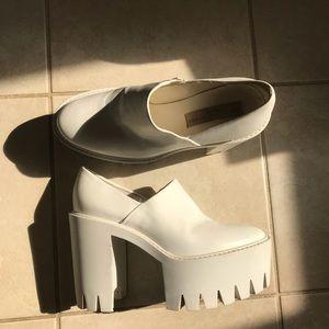 Stella McCartney White Monster White Heel Boots